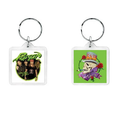 Poison Photo Keychain