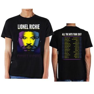 Lionel Richie Tri Portrait w/ Tour Dates