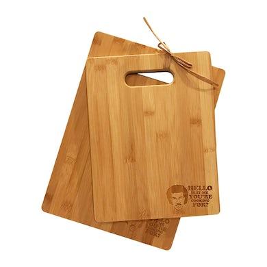 Lionel Richie Hello! Cutting Board