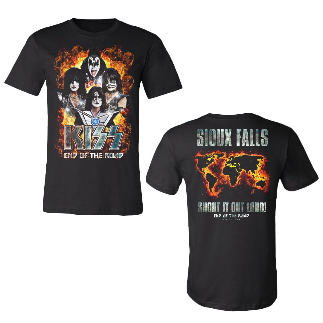 Black Sabbath US Tour 1975 Band Pic Reissue Grey T Shirt New Official