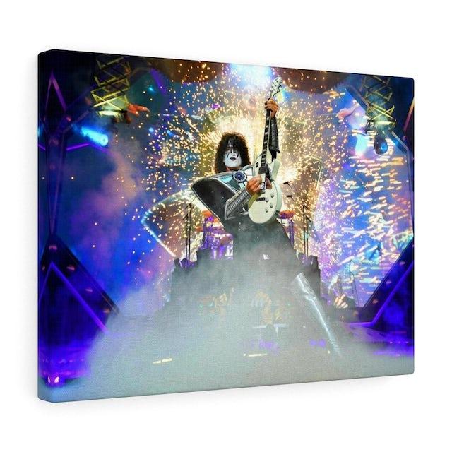 Kiss The Spaceman IV Canvas