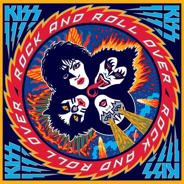 Kiss Rock and Roll Over LP (Vinyl)