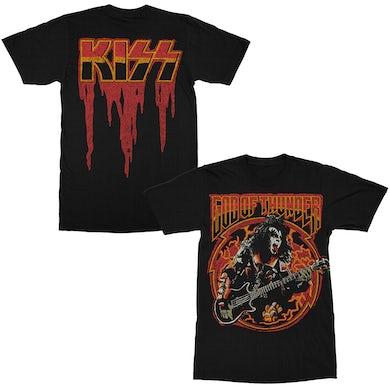 Kiss God of Thunder T-Shirt