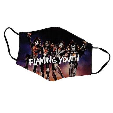 Kiss Flaming Youth Face Mask