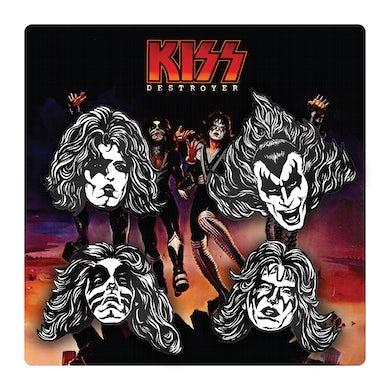 Kiss Destroyer Pin Set