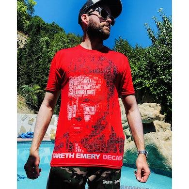 Gareth Emery limited edition DECADE shirt