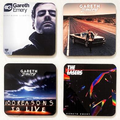 gareth emery album art coasters