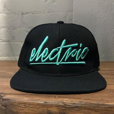 Gareth Emery - Electric - Teal Snapback Hat