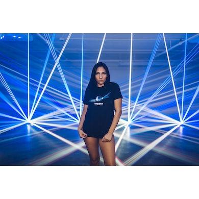 Gareth Emery Black Laserface Disco Ball T-Shirt