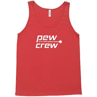 Gareth Emery Pew Crew Red Tank Top