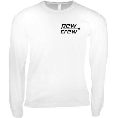 Gareth Emery Pew Crew White Long Sleeve