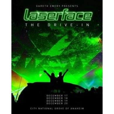 Gareth Emery Signed Laserface Drive-In Tour Poster