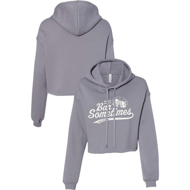 Clay Walker We All Need A Bar Cropped Hoodie