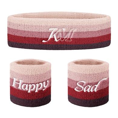 Kacey Musgraves HAPPY & SAD SWEATBAND SET