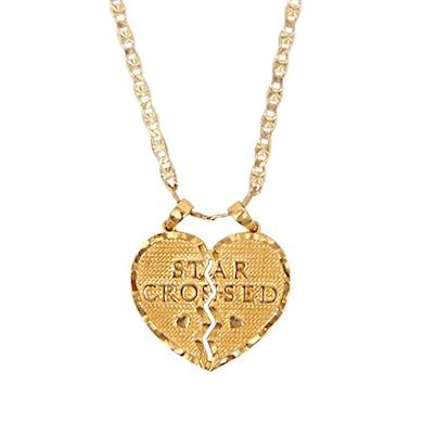 Kacey Musgraves Star-Crossed Broken Heart Necklace