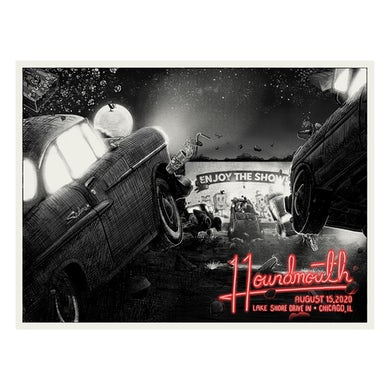 Houndmouth 2020 Drive In Poster PRE-ORDER