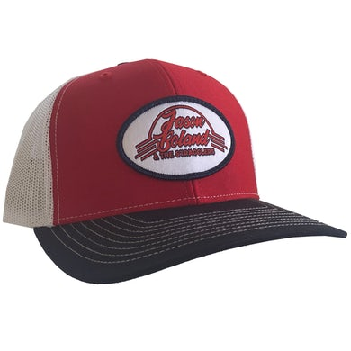 Jason Boland & The Stragglers Red Patch Hat