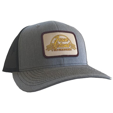 Jason Boland & The Stragglers Grey Patch Hat