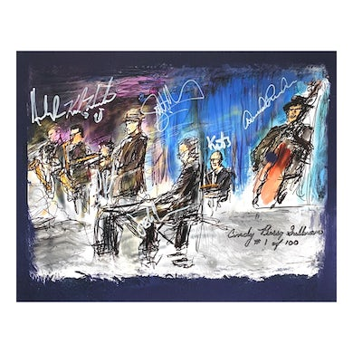 Big Bad Voodoo Daddy  Limited Edition Signed & Numbered Artist Print from Annapolis, Maryland