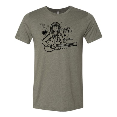 Molly Tuttle TAKE THE JOURNEY TEE - GREEN