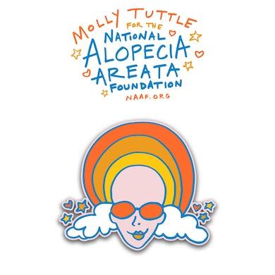 Molly Tuttle ALOPECIA PIN