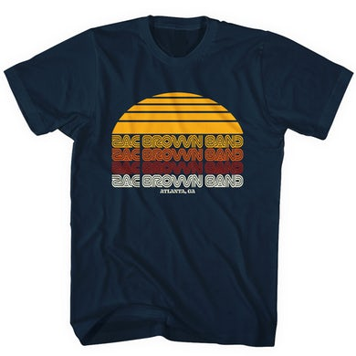 Zac Brown Band Retro Sunrise T-Shirt
