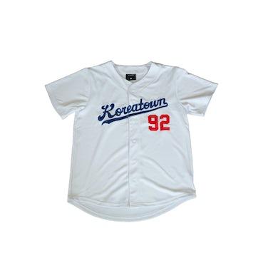 Dumbfoundead Koreatown Pro Fit Baseball Jersey - White