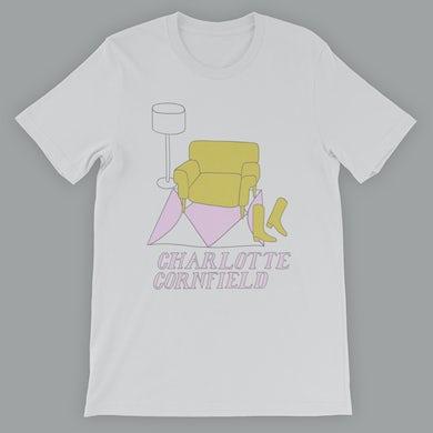 Charlotte Cornfield Yellow Chair T-Shirt
