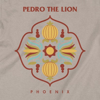 Pedro The Lion Motif T-Shirt