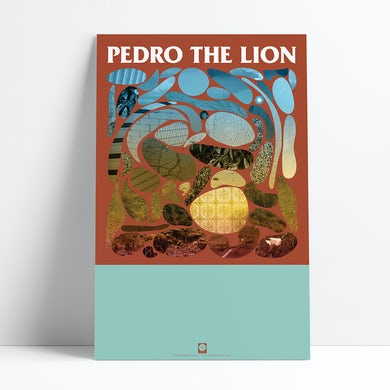 "Pedro The Lion Phoenix Poster (11""x17"")"