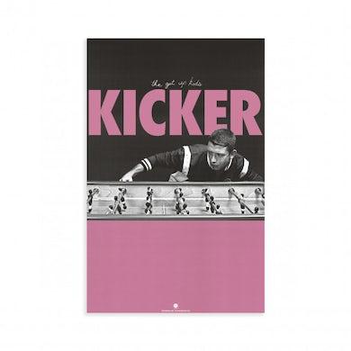 "The Get Up Kids Kicker Poster (11""x17"")"