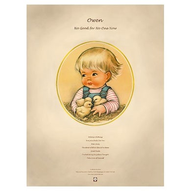 """Owen No Good For No One Now Poster (18""""x24"""")"""