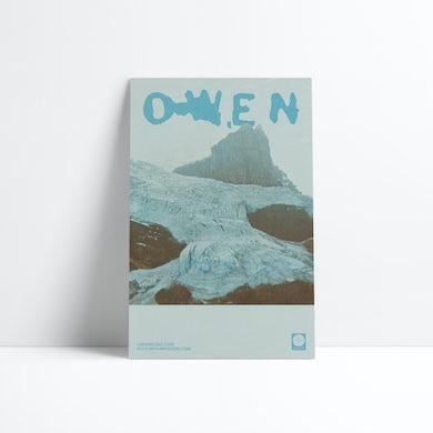 """Owen The Avalanche Tour Poster (11""""x17"""")"""