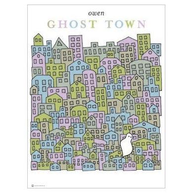 "Owen Ghost Town Poster (18""x24"")"