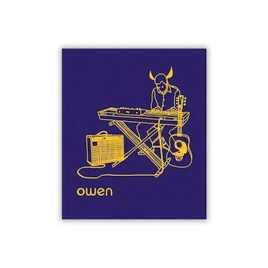 Owen Horns, Guitar, and Keys Sticker