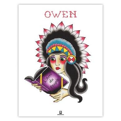 """Owen L'Ami du Peuple Poster (18""""x24"""")"""