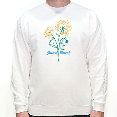 Anna Burch Wall Flowers Crew Neck Sweatshirt