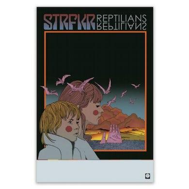 "Strfkr Reptilians Poster (11""x17"")"