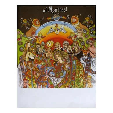 """Of Montreal Satanic Panic in the Attic Poster (18""""x24"""")"""