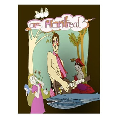 """Of Montreal Gender Mutiny Poster (18""""x24"""")"""