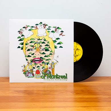 Of Montreal The Early Four Track Recordings (Vinyl)
