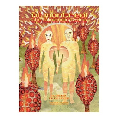 """Of Montreal The Sunlandic Twins Poster (18""""x24"""")"""