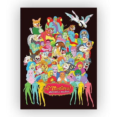 """Of Montreal Innocence Reaches Poster (18""""x24"""")"""