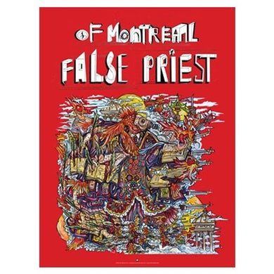 """Of Montreal False Priest Poster (18""""x24"""")"""