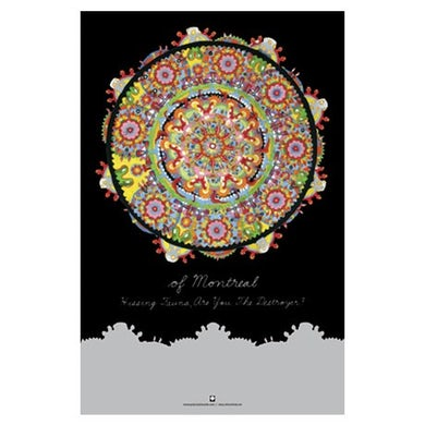 """Of Montreal Hissing Fauna Poster (11""""x17"""")"""