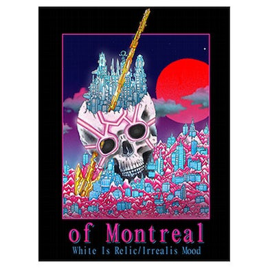 """Of Montreal White Is Relic/Irrealis Mood Poster (18""""x24"""")"""