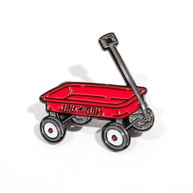 JAY SOM Wagon Enamel Pin