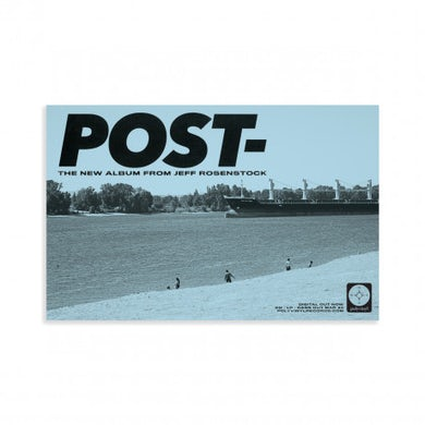 "Jeff Rosenstock POST- Poster (11""x17"")"