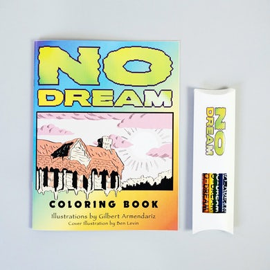 Jeff Rosenstock NO DREAM Coloring Book
