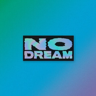 Jeff Rosenstock NO DREAM Holographic Sticker